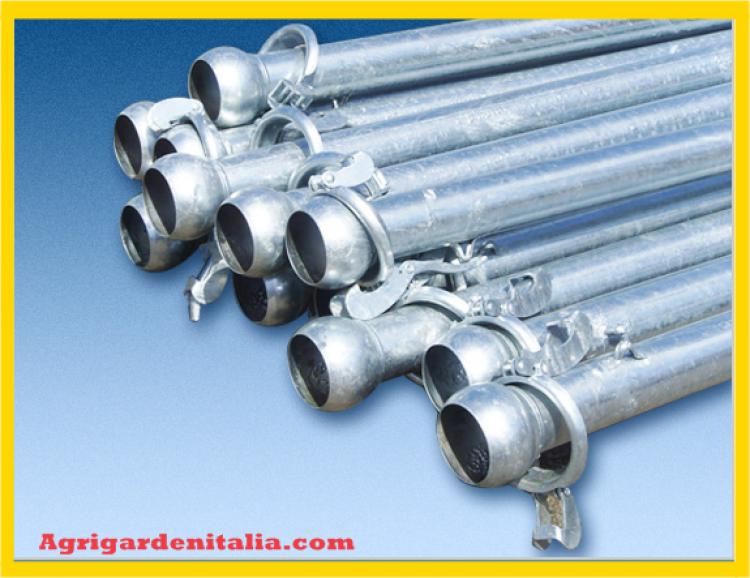 Tubi per irrigazione nuovi sferici bichiere negozio for Tubi per irrigazione a goccia prezzi